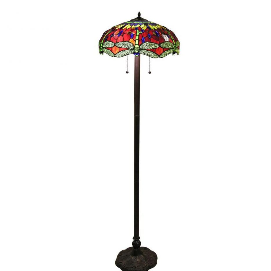 colorful floor lamp green tiffany shade accent dale lighting table lamps crystal for living room tiny corner bathroom decor ideas ethan allen oval coffee gold home accessories