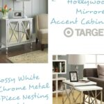comfortable end tables sets piece together with tablestarget comfy mirrored target lawsoflifecontest accentnightstands accent nightstands nightstand full ave six reflections 150x150