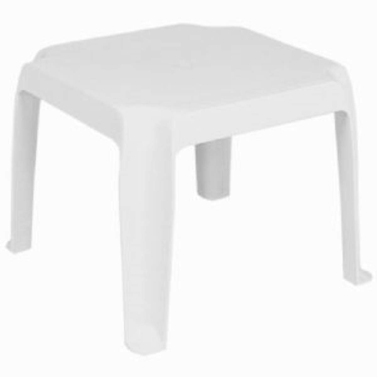 compamia sunray resin square side table white set outdoor patio tables garden drink cooler tall thin lamps nautical coffee centre for drawing room victorian style and end armless