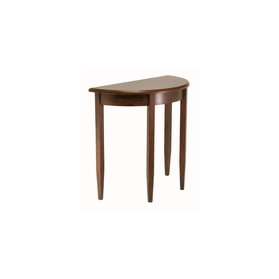 concord half moon accent table popscreen pedestal brushed nickel lamps small with wheels couch tray ikea bistro hobby lobby furniture end tables chromebook gold legs target