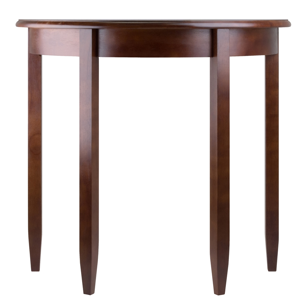 concord half moon accent table winsome wood magnussen glass coffee wall clocks target pedestal bistro small pub and chairs brushed nickel lamps narrow hallway colorful tables what