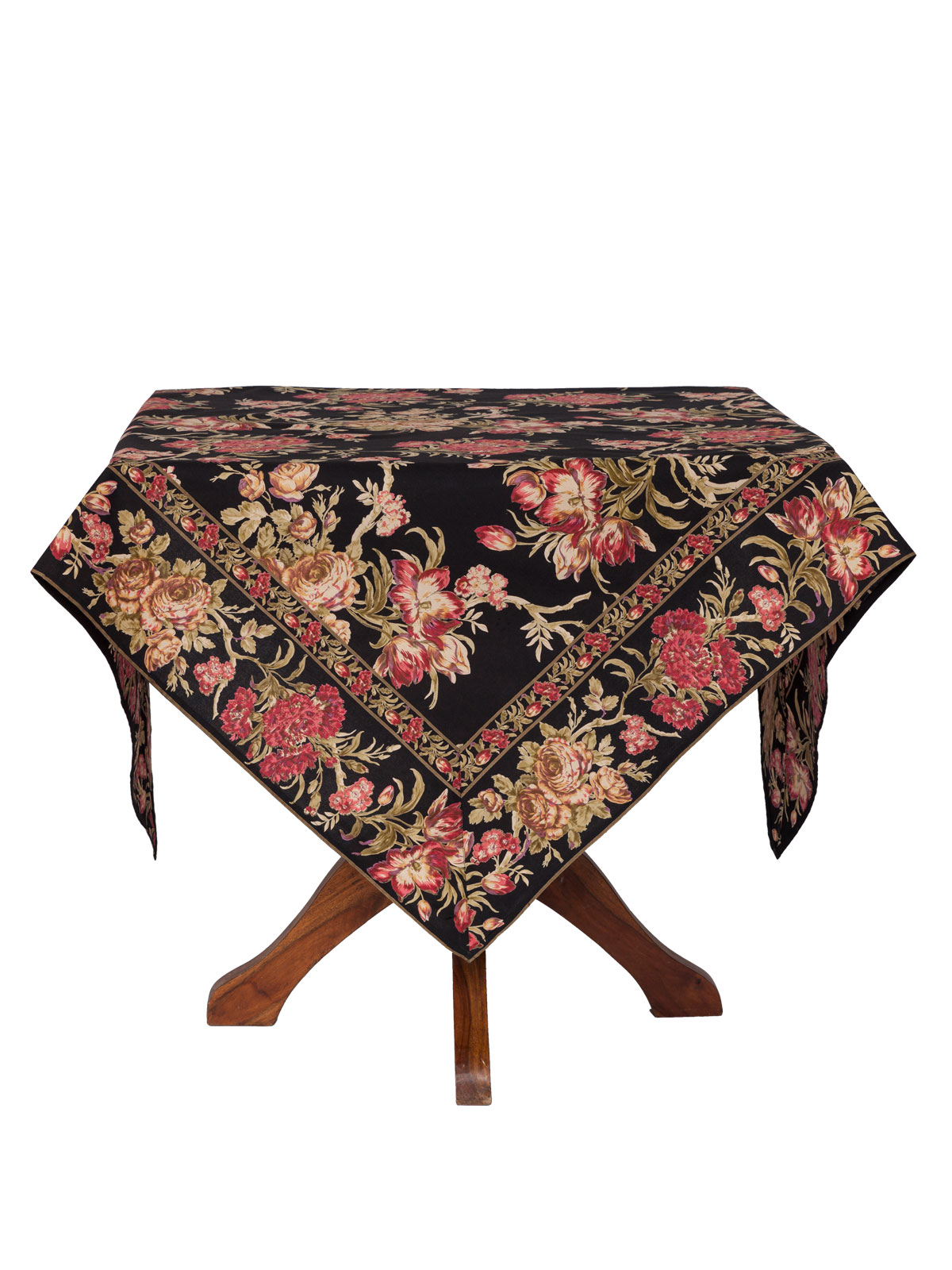 conservatory tablecloth attic linens kitchen tpconc black for inch round accent table folding lawn chairs white wood console and metal side rectangle tall nightstands threshold
