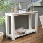 console table design eco friendly solid wood made out narra craftsman rectangle white stained wooden with lower shelf adorable furniture antique oak accent full size ikea 150x150
