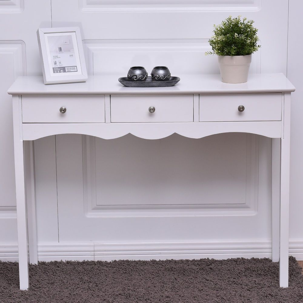 console table hall side desk accent drawers vanity entryway white end date wednesday pst nite stands furniture round outdoor cover gold and glass tray uttermost samuelle coffee