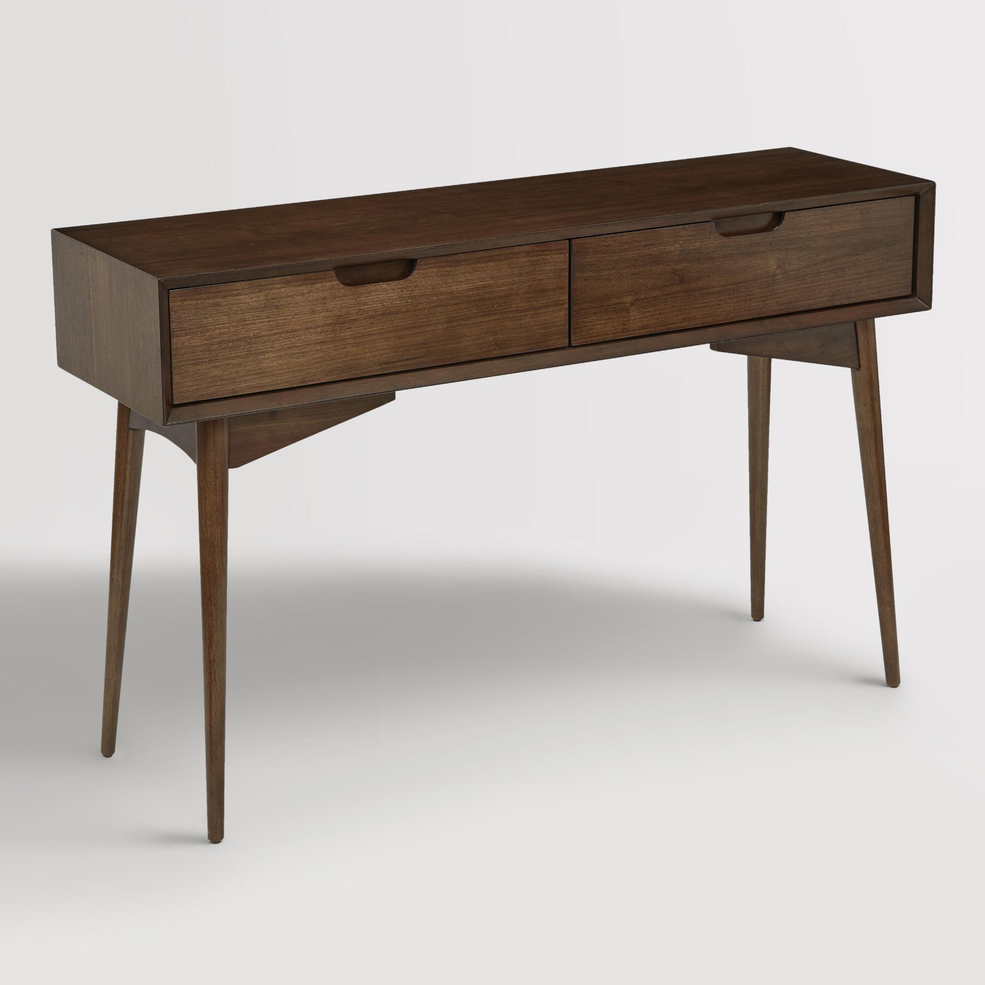 Walnut Brown Wood Brewston Coffee Table: Grottepastenaecollepardo
