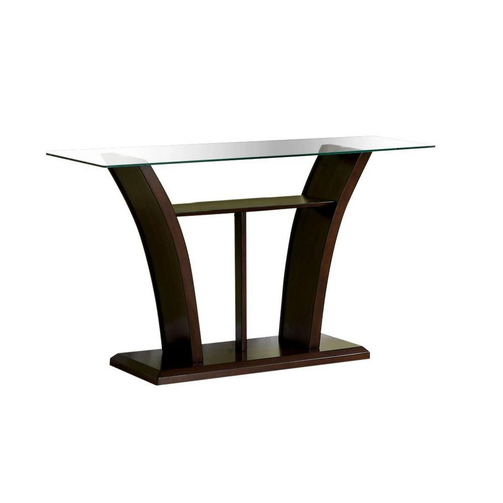 console tables accent the cherry furniture america idf threshold owings table ali dark glass sofa fire pit hampton bay chaise lounge cushions pottery barn dining room round wood