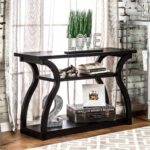 console tables for entryway hallway accent sofa shelf modern long furniture america sara black finish table kitchen chairs navy end piece coffee marble top dining set nautical 150x150