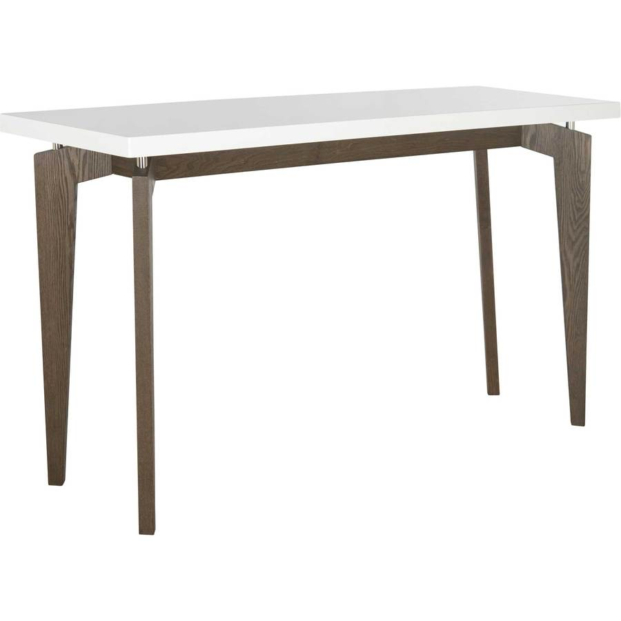 console tables froy side black lacquer accent table josef floating top white dark brown round farmhouse pottery barn living room chairs tablecloths and placemats west elm desk
