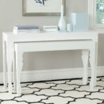 consoles furniture safavieh room white lacquer accent table share this product lack bedside designer legs ikea storage bins cement blue outdoor side industrial west elm entryway 150x150