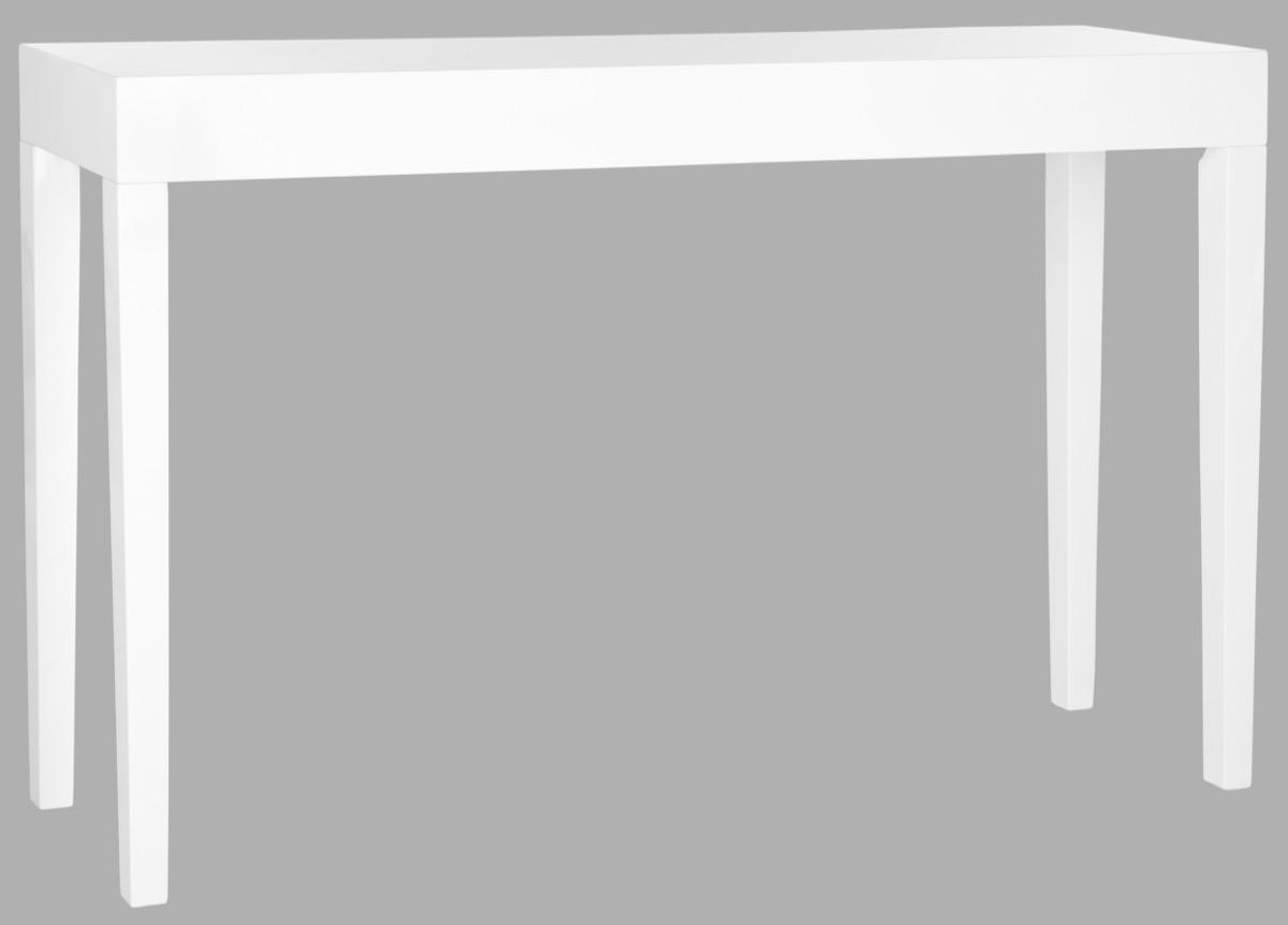 consoles furniture safavieh side white lacquer accent table share this product navy tablecloth cement bedside stand canadian tire patio asian style floor lamps with usb ports and