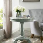 constance gray round accent table furniture place target wicker chairs bourse black iron bedside modern pedestal west elm glass floor lamp linen tablecloth marble with dining room 150x150