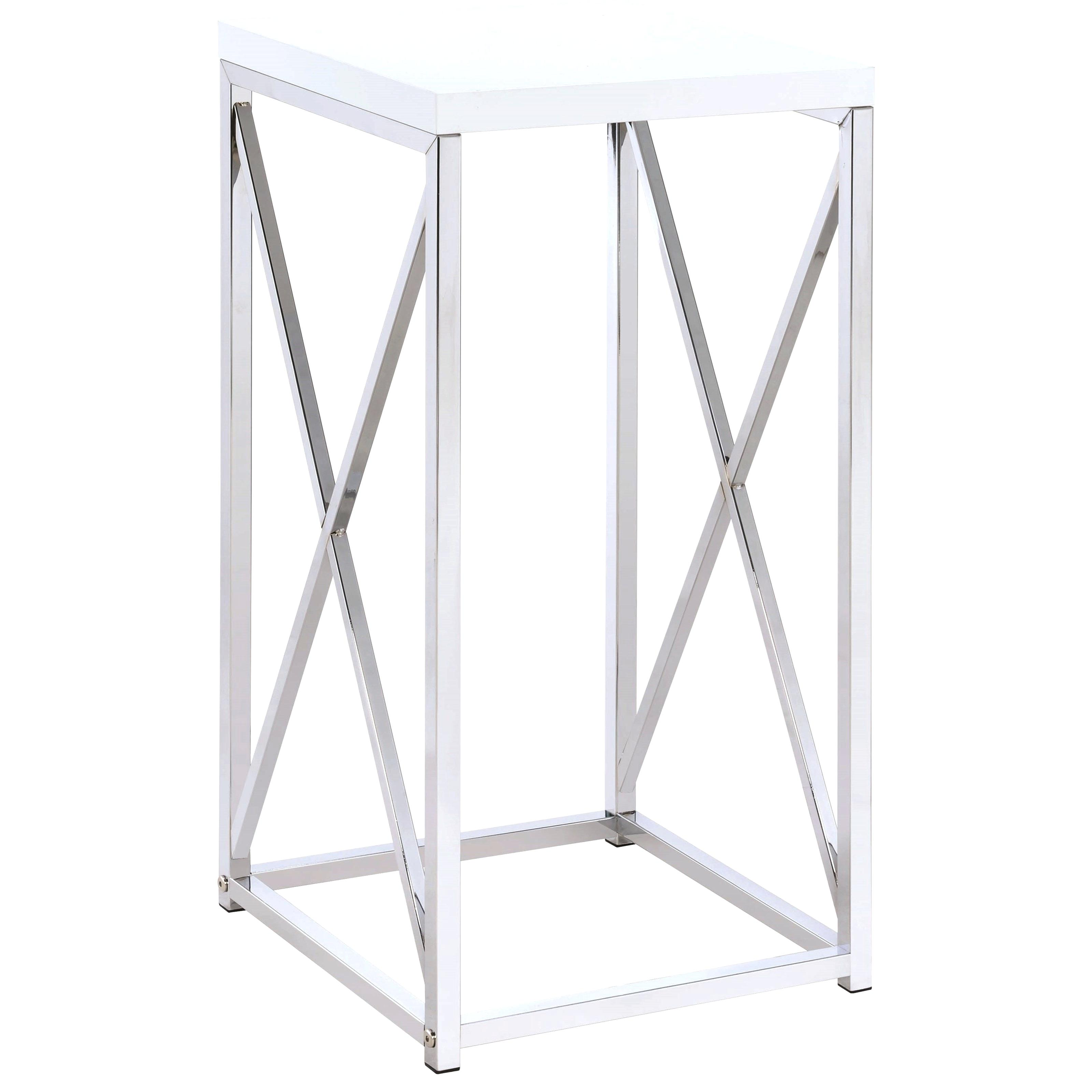contemporary accent table tables modern round coaster with base glass paper tablecloths wooden threshold strips for carpet small coffee ideas gray side narrow end slim white