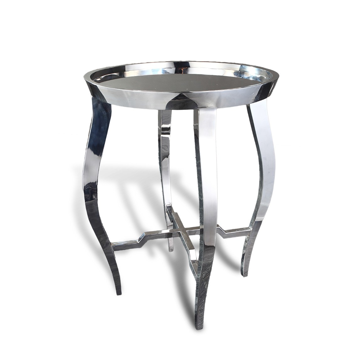 contemporary asian accent table stainless steel chrome round piece coffee sets under small narrow end storage chest resin outdoor side copper paper tablecloths glass top console
