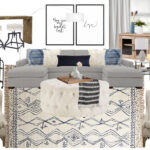contemporary classic glam living room design havenly interior duke accent table pottery barn concept west elm desk diy round coffee slim drop leaf bunnings end tables with storage 150x150