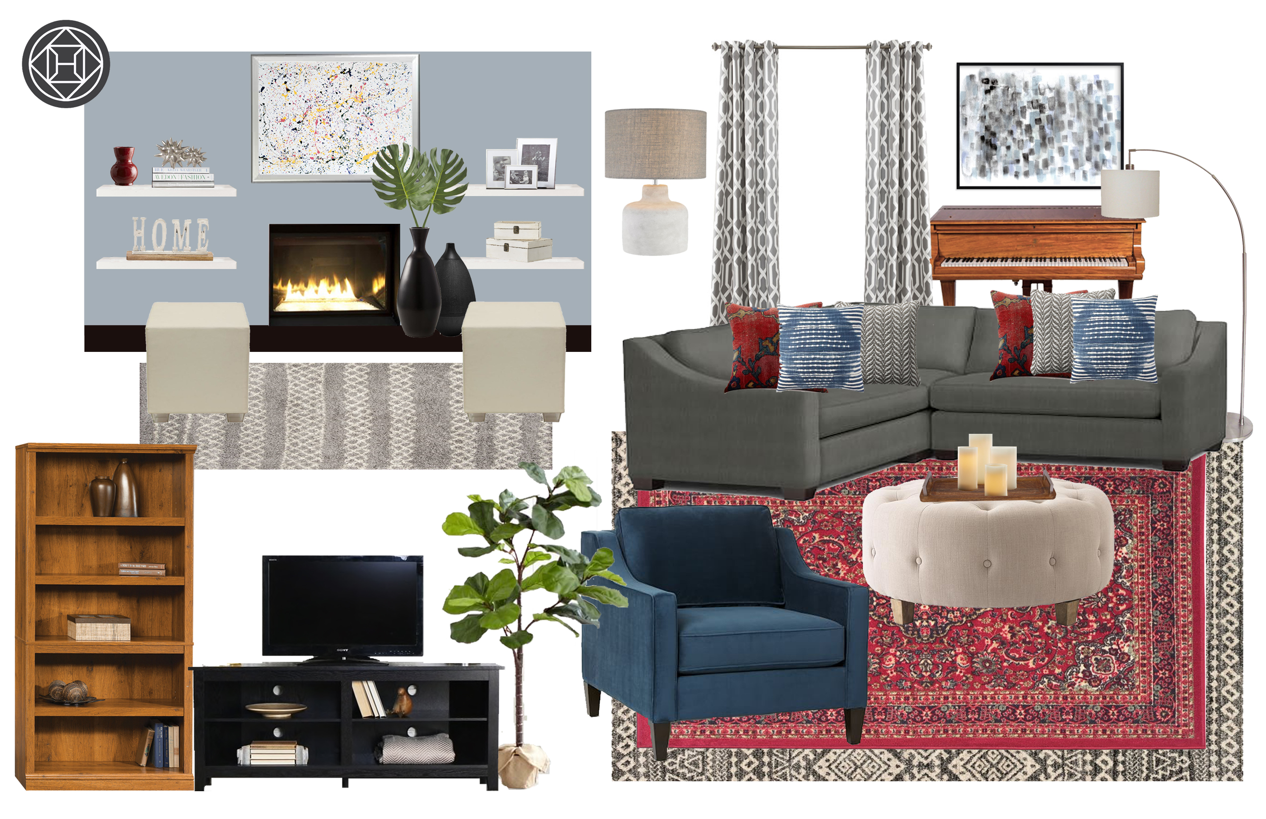 contemporary classic living room design havenly crate and barrel marilyn accent table concept west elm replacement lamp shades target furniture auckland hammered brass side large