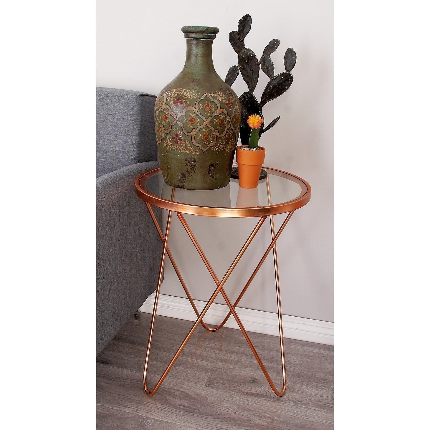 contemporary inch copper glass accent table studio tables free shipping today round coffee set decor small chairs with arms stands pier one furniture coupons west elm clearance