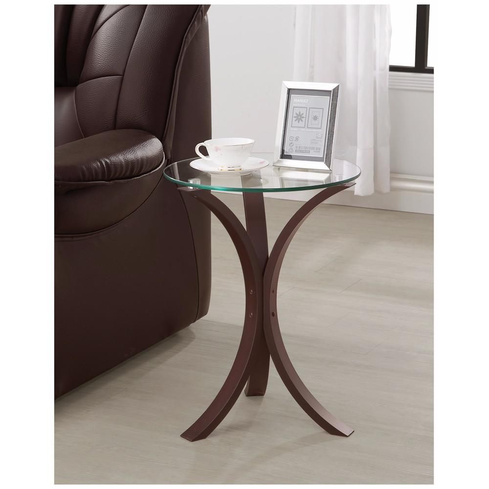 contemporary metal accent table with glass top brown and clear decorative cordless lamps side door decoration ideas modern acrylic lucite coffee marble nautical themed bedroom