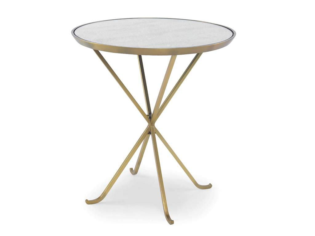 contemporary side table metal stone round grand aerin mirrored accent lauder antique tables worth light blue coffee matching lamps white corner christmas runner pattern