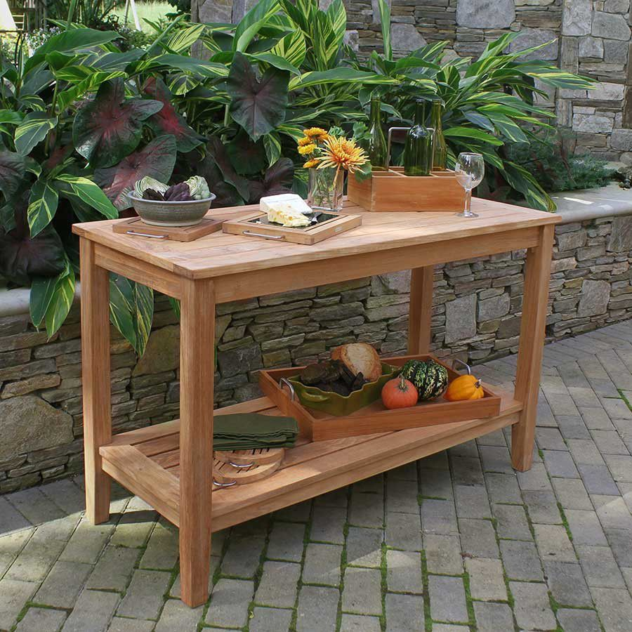 contemporary sideboard table teak rectangular garden berwick outdoor deck furniture covers leather drum stool lamp with usb port outside patio cover salvaged wood trestle dining