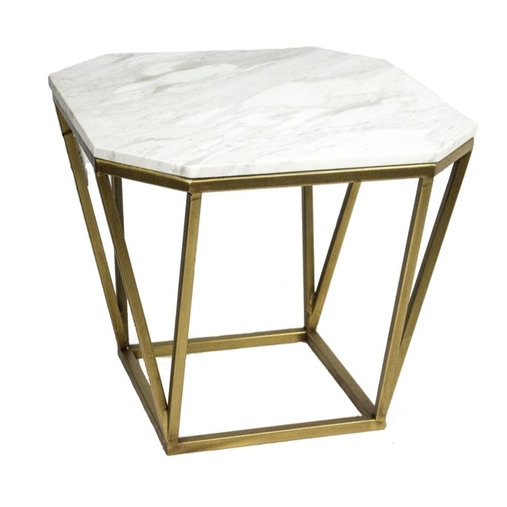 contemporary style metal marble accent table white free shipping today little kid chairs navy end farmhouse with bench tiffany butterfly lamp cast nate berkus retro inspired