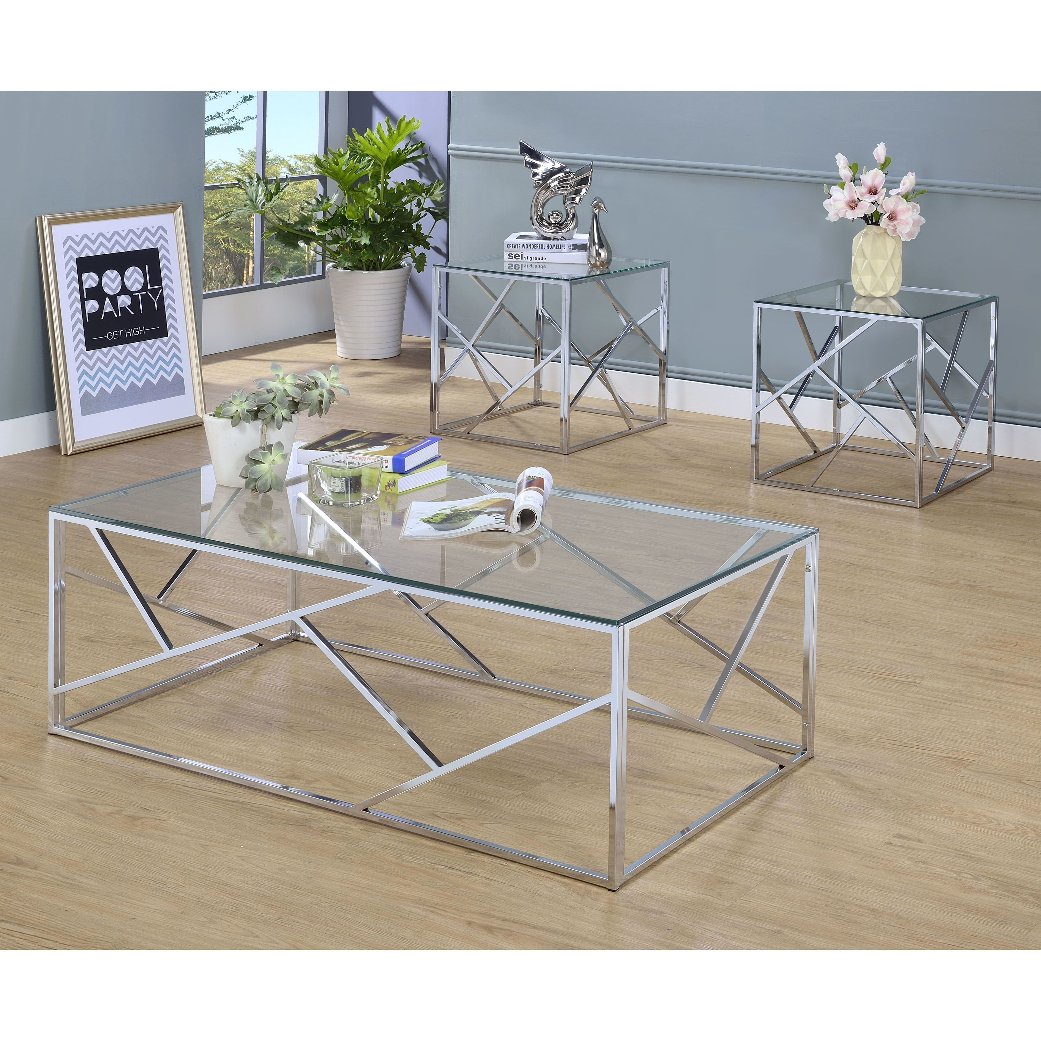 contemporary table mer avenue hawthorne high top target accent metal chrome blue tables usb mercury rita green lorelei small sets isaac ledger living cylinder round room glass