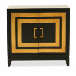 contemporary two door accent chest dark brown mathis brothers pul table between chairs lucite acrylic coffee barn dining gas grills distressed room furniture farmhouse target and 150x150