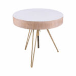 contemporary white wood accent table gold hairpin legs elk dimondhome accessories with nautical themed side computer desk for small spaces premade unique cabinet hardware 150x150