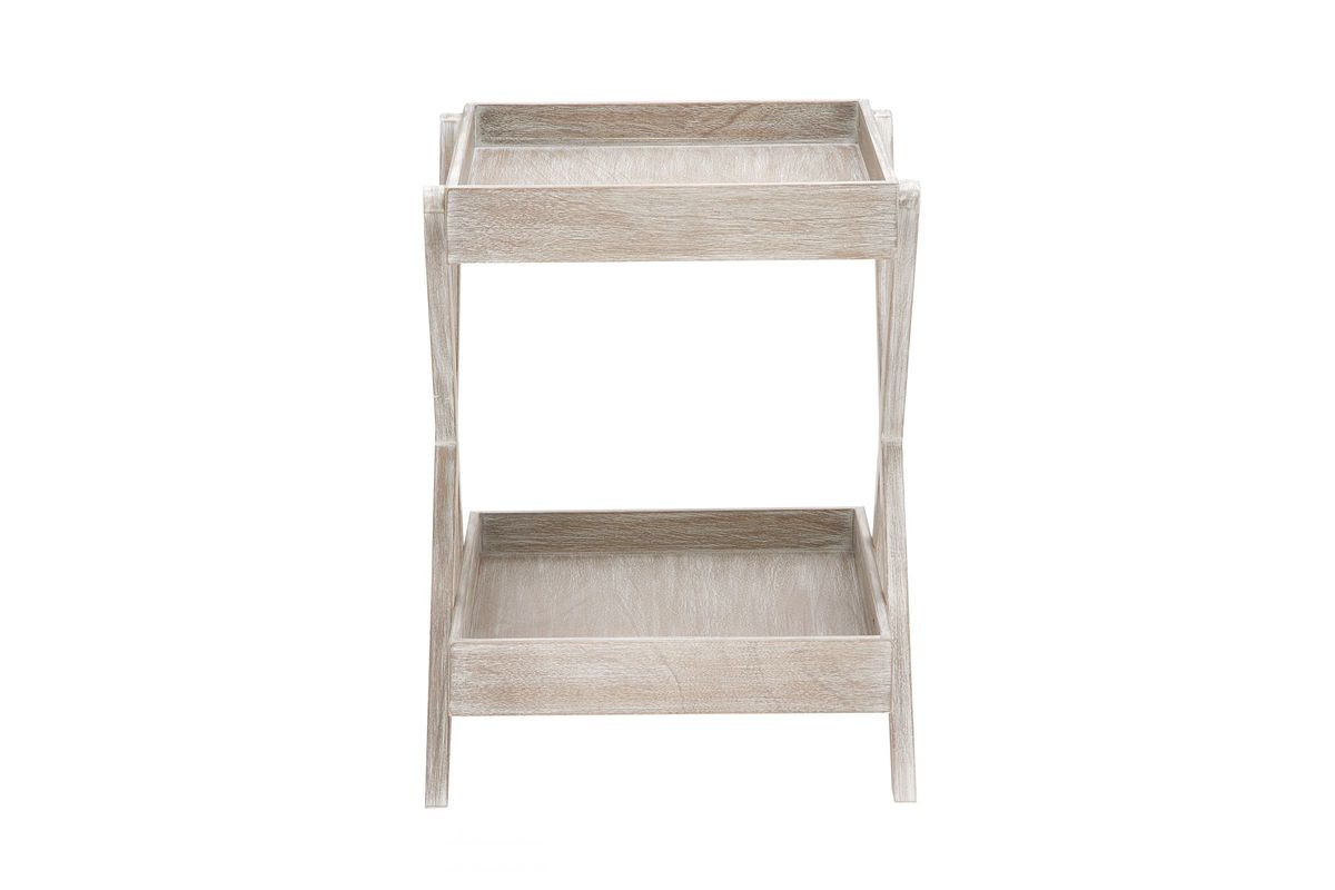 contemporary whitewash accent tray table gardner white from furniture aluminium door threshold strips crystal lamp base pier off coupon washer dryer outdoor cart tables old