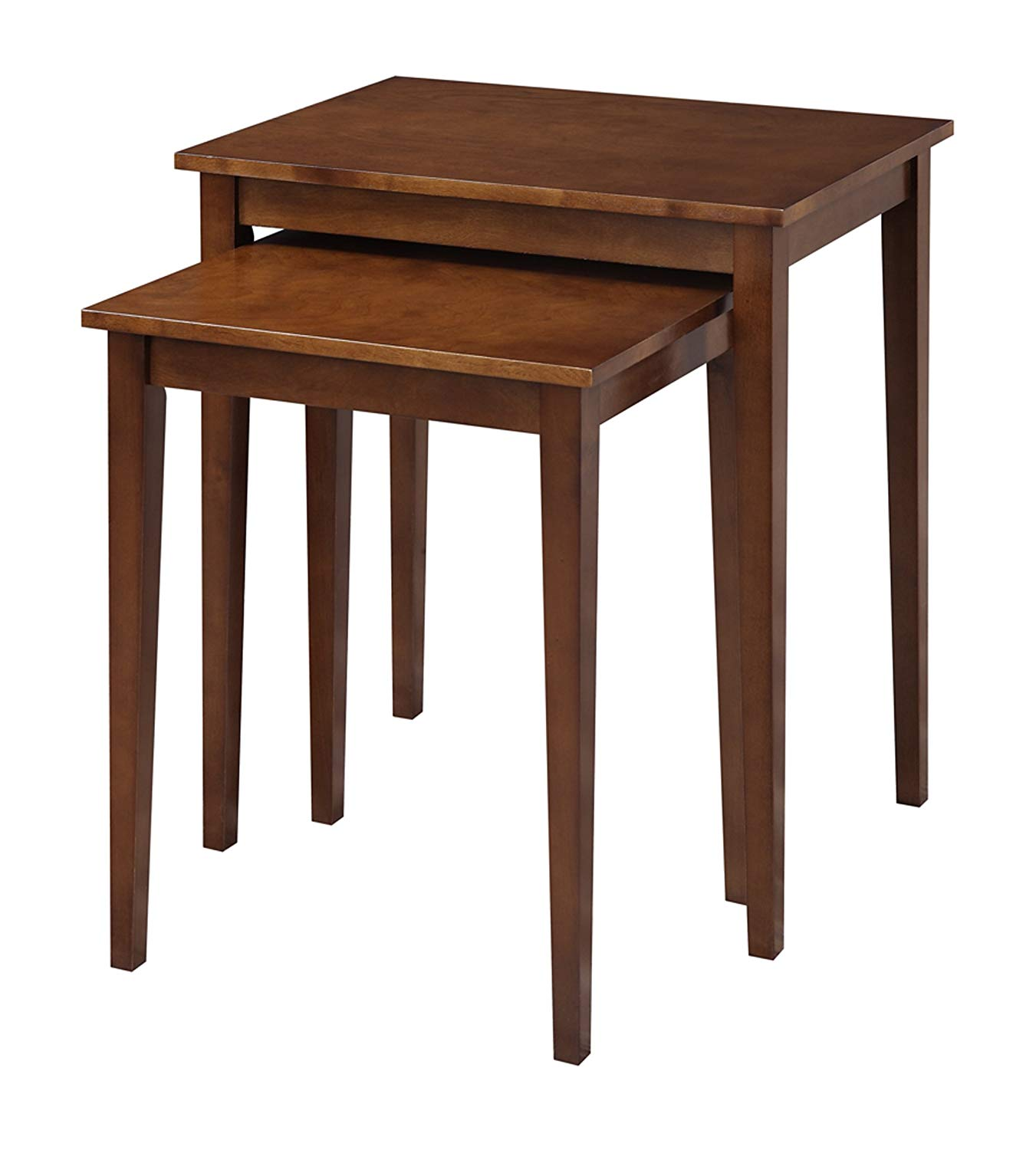 convenience concepts american heritage nesting end room essentials stacking accent table tables espresso kitchen dining tipton round best home decor ping websites decorative