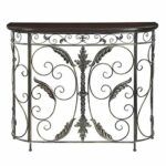 convenience concepts console table products black half moon accent inch round decorator room essentials mirror meyda tiffany ceiling light modern standard lamps furniture cabinet 150x150