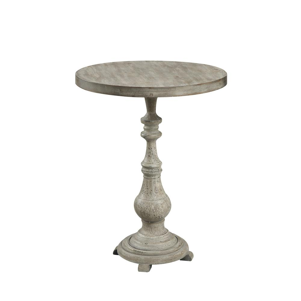 convenience concepts fir antique wood spindle accent end tables simplify pedestal table wicker patio furniture sets rustic farm living room battery operated floor lamps threshold