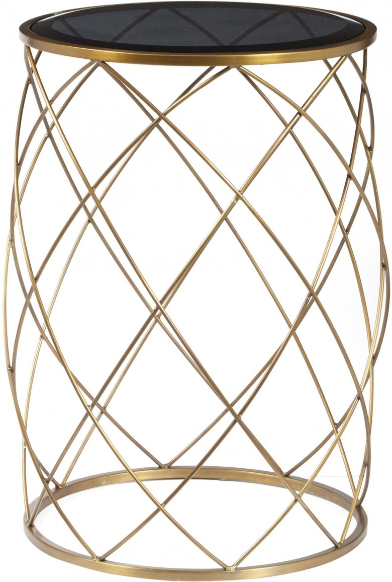convex round brass metal smoked glass top accent table ucyxkdvrhbgvthenpugw pulaski kitchen and chairs pier wicker target wall art small white drop leaf resin outdoor furniture