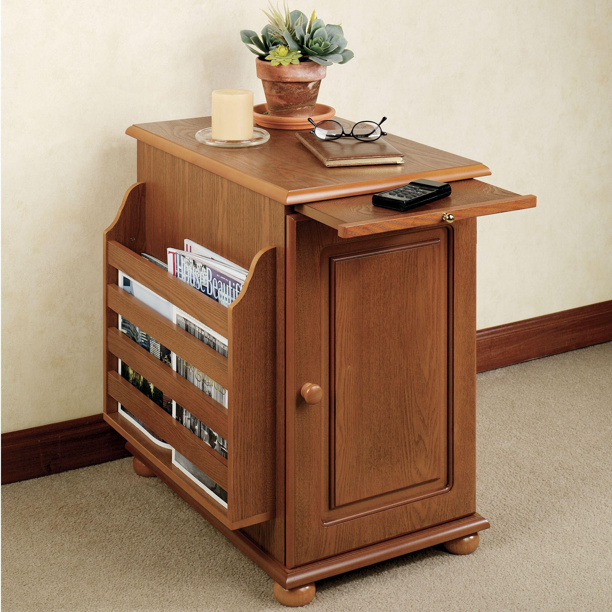 cool end table with door white coffee and small narrow long full size accent storage drawer lamp attached built charging station magazine rack power marble top dog tables ballard