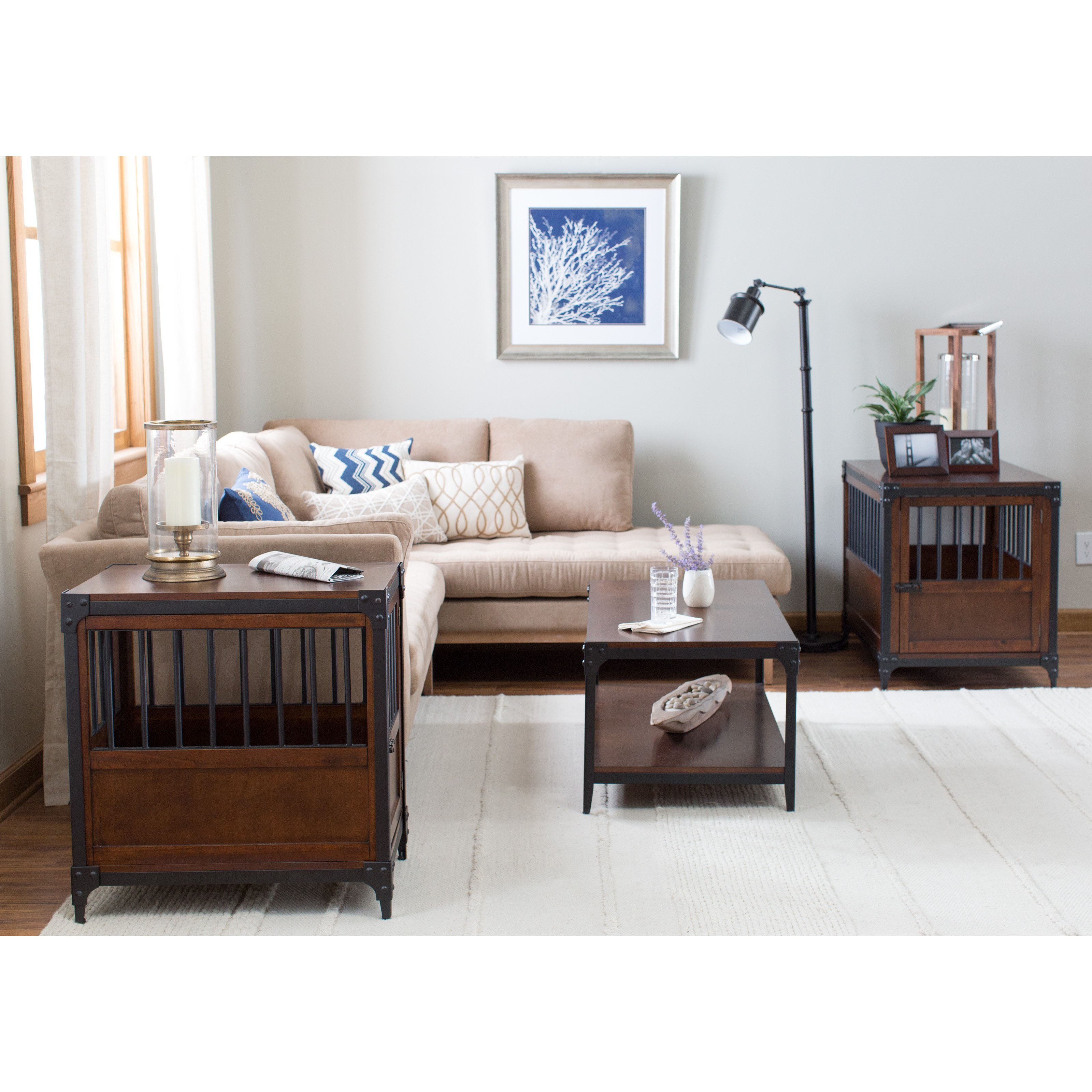 cool end tables probably fantastic awesome newport pet crate boomer george trenton table inuse espresso pottery barn accent ashley cocktail furniture free shipping king sleigh