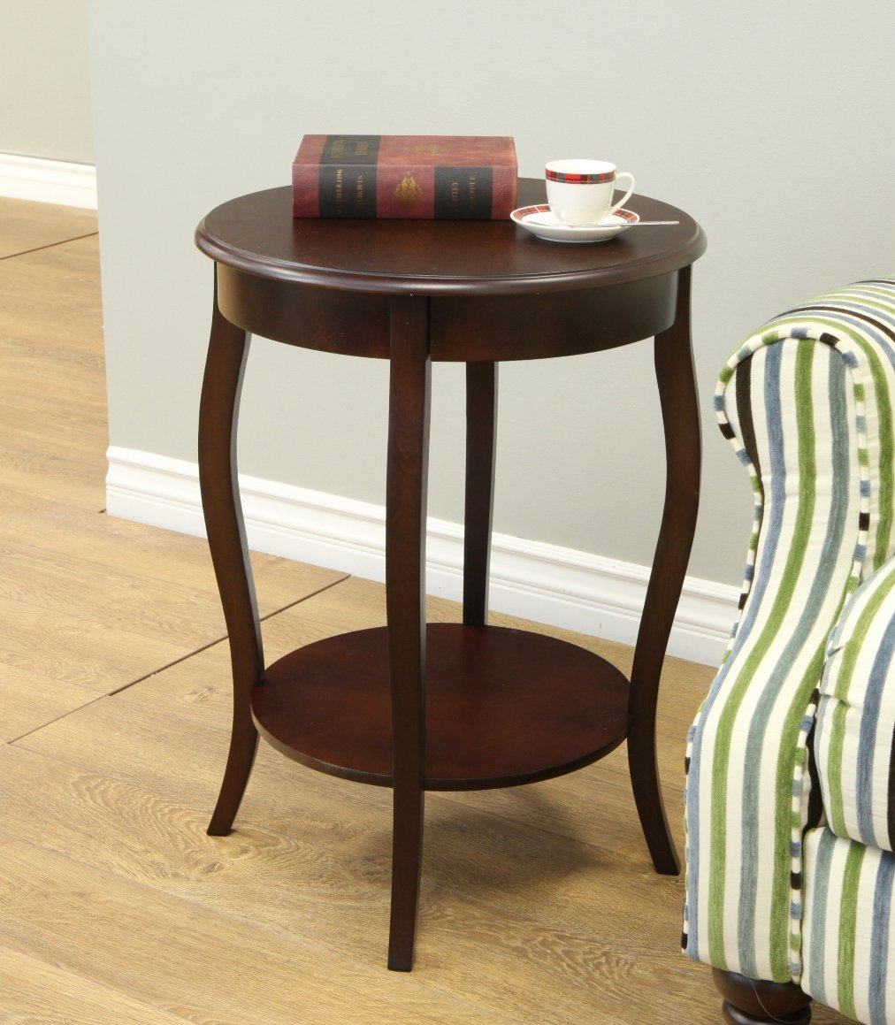cool home round accent table small ideas wood covers side faux pedestal decorating threshold tablecloth for cover white unfinished wooden full size corner chair two bulb lamp