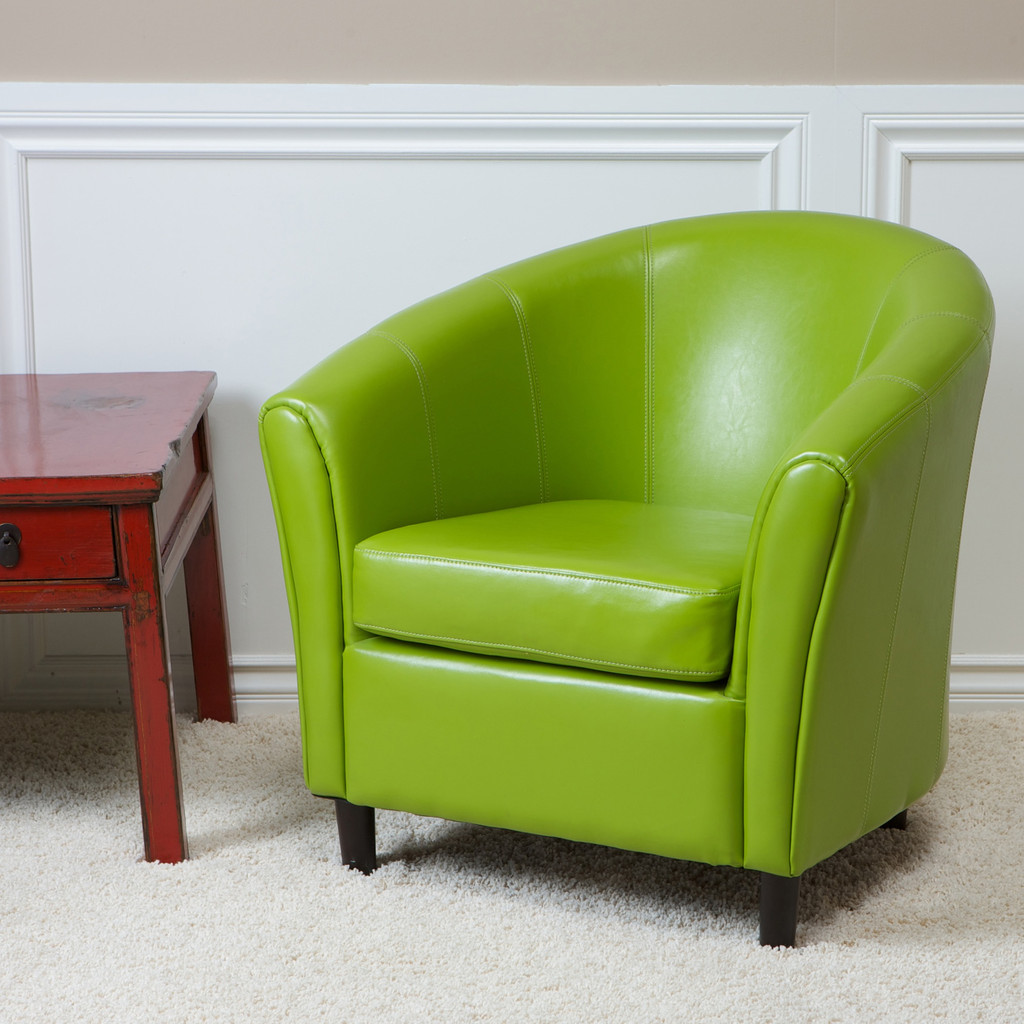 cool lime green accent chair homesfeed modern with rustic side table and white fur rug lucite nesting tables floor tom legs target coffee storage leadlight lamps long console