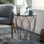 copper accent table metallic zhuxing black threshold product overview console with drawers ikea uttermost samuelle wooden coffee ethan allen maple summer clearance patio furniture 150x150