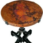 copper accent table target drum round wipeoutsgrill info marble top threshold with lamps west elm pillows extra small side dale tiffany tulip lamp white porch inch cover candle 150x150