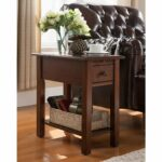 copper grove ballingall espresso side table with charging sutton station accent tables small stained glass lamp pineapple lights modern mats ballard office furniture outdoor 150x150