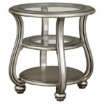 coralayne end table ashley furniture home clearance accent tables silver chest wine holder astoria pedestal glass coffee metal frame dining with chairs pier one rugs black side 150x150