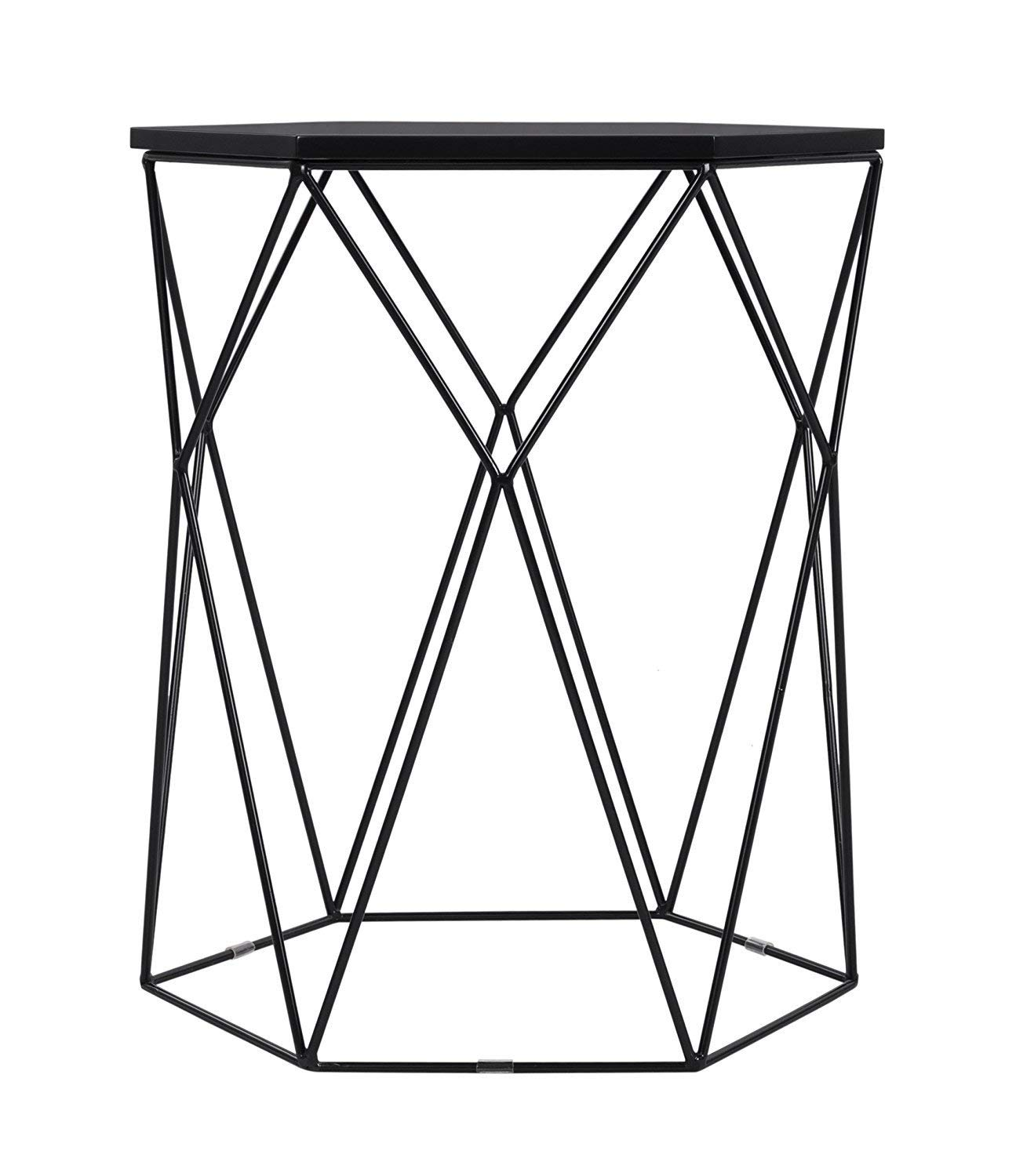 corner accent table find line leick get quotations indoor multi function study computer home office desk bedroom living room modern style west elm dining rose gold contemporary