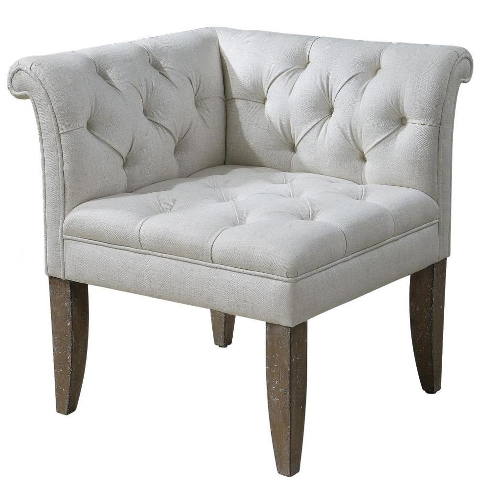 corner accent table white various options for classic tufted chesterfield chair sofa ivory cream antique round patio furniture covers blue and tablecloth pier one imports sofas