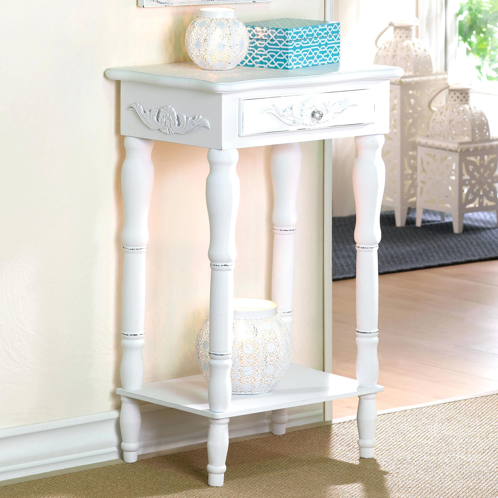 corner accent tables shelves popular leick shield tier table with drawer threshold mirrored handcrafted end elephant pieces small outside and chairs distressed wood side kohls