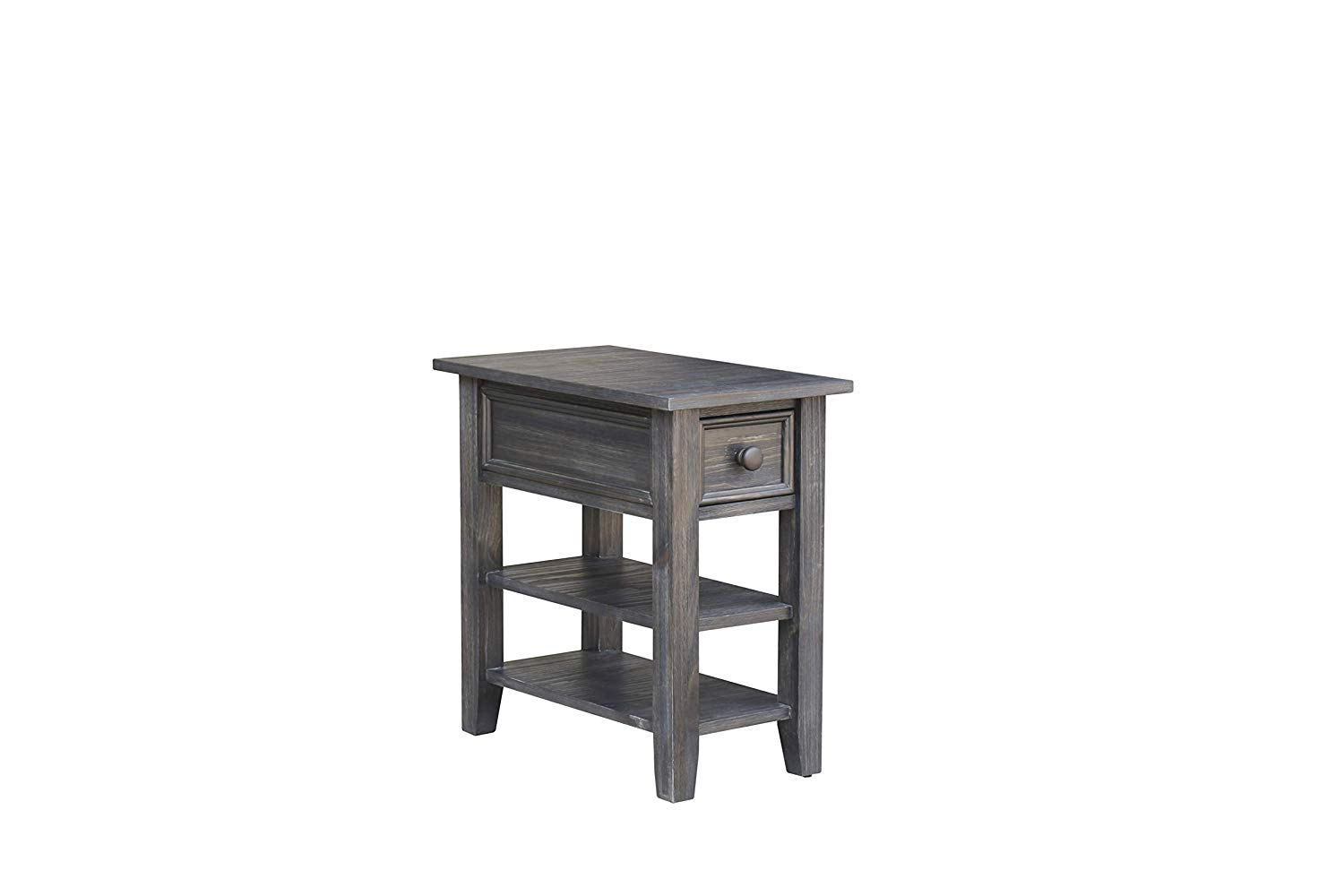 cottage creek new haven chair side end table burnt ash pql tier accent target kitchen dining monarch mirrored media cabinet nautical ture frames night lamp wall tables for living