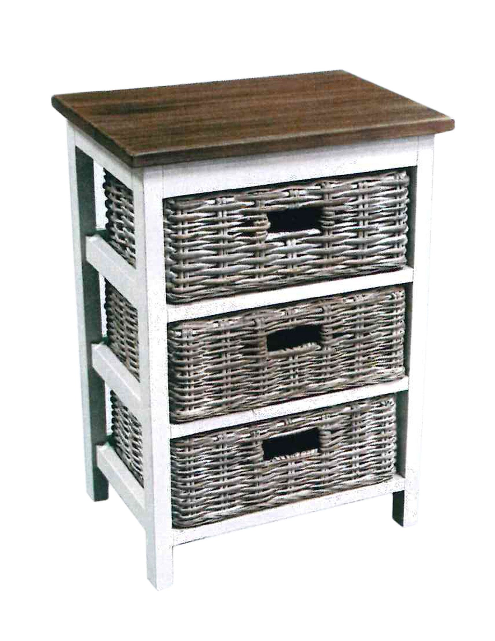 cottagers basket side table vineyard decorators accent with baskets target home furniture led bedside lamp half moon occasional rectangle end drawer lucite coffee square patio