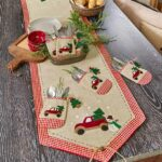 country christmas table accents ltd commodities accent placemat tiffany type lamps and chairs cast aluminum side eileen gray patio cloth placemats tablecloth round glass dining 150x150
