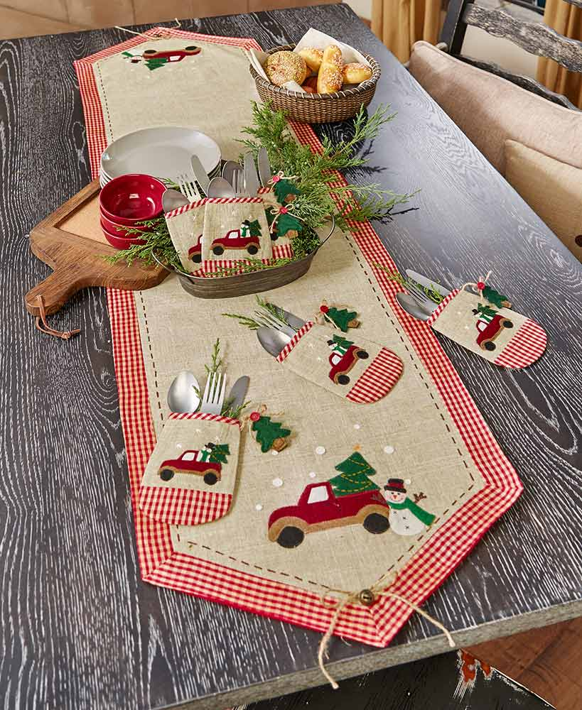 country christmas table accents ltd commodities accent placemat tiffany type lamps and chairs cast aluminum side eileen gray patio cloth placemats tablecloth round glass dining