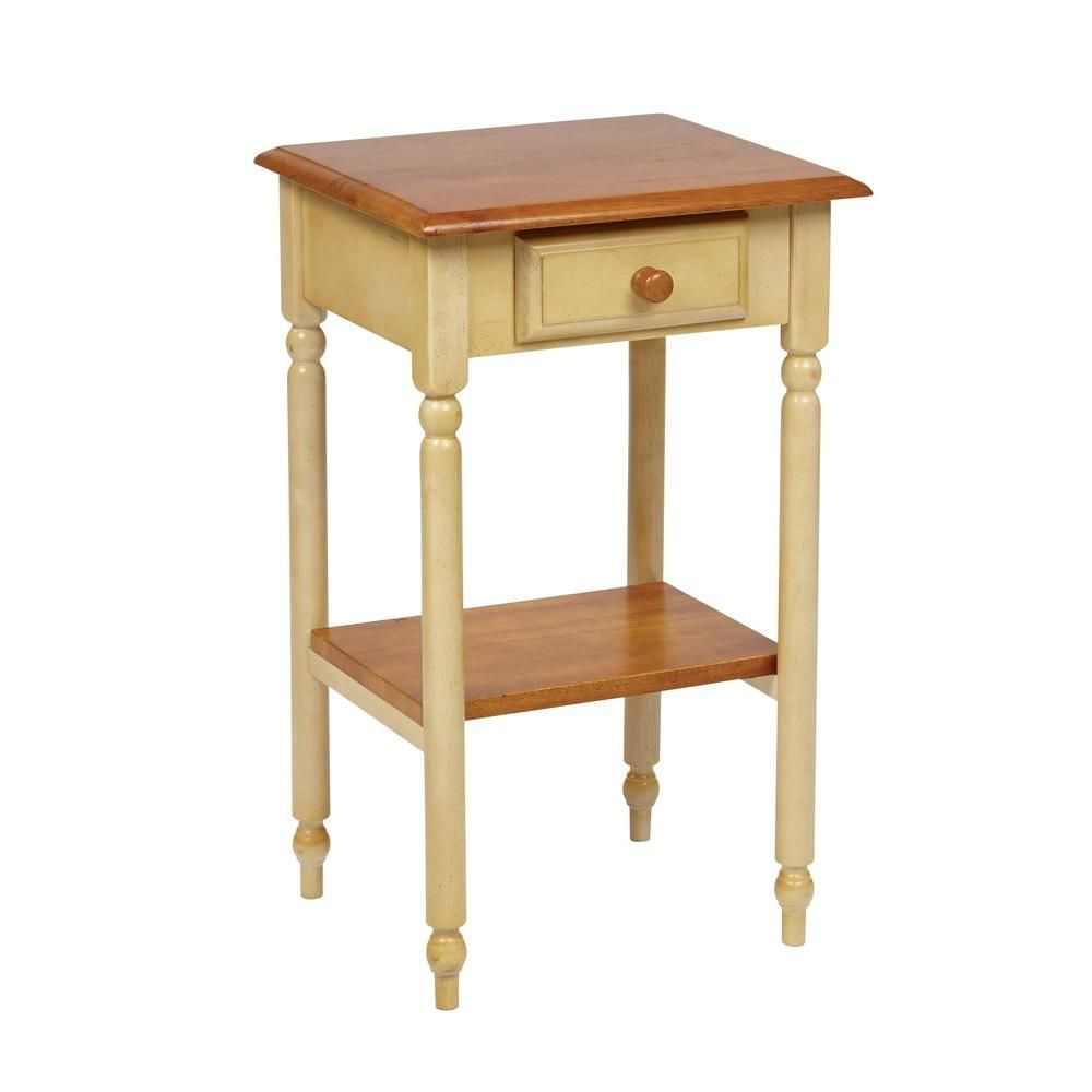 country cottage tan end table products accent telephone gold side lamps metal dining room legs target small counter height sets pink crystal lamp modern console with drawers back