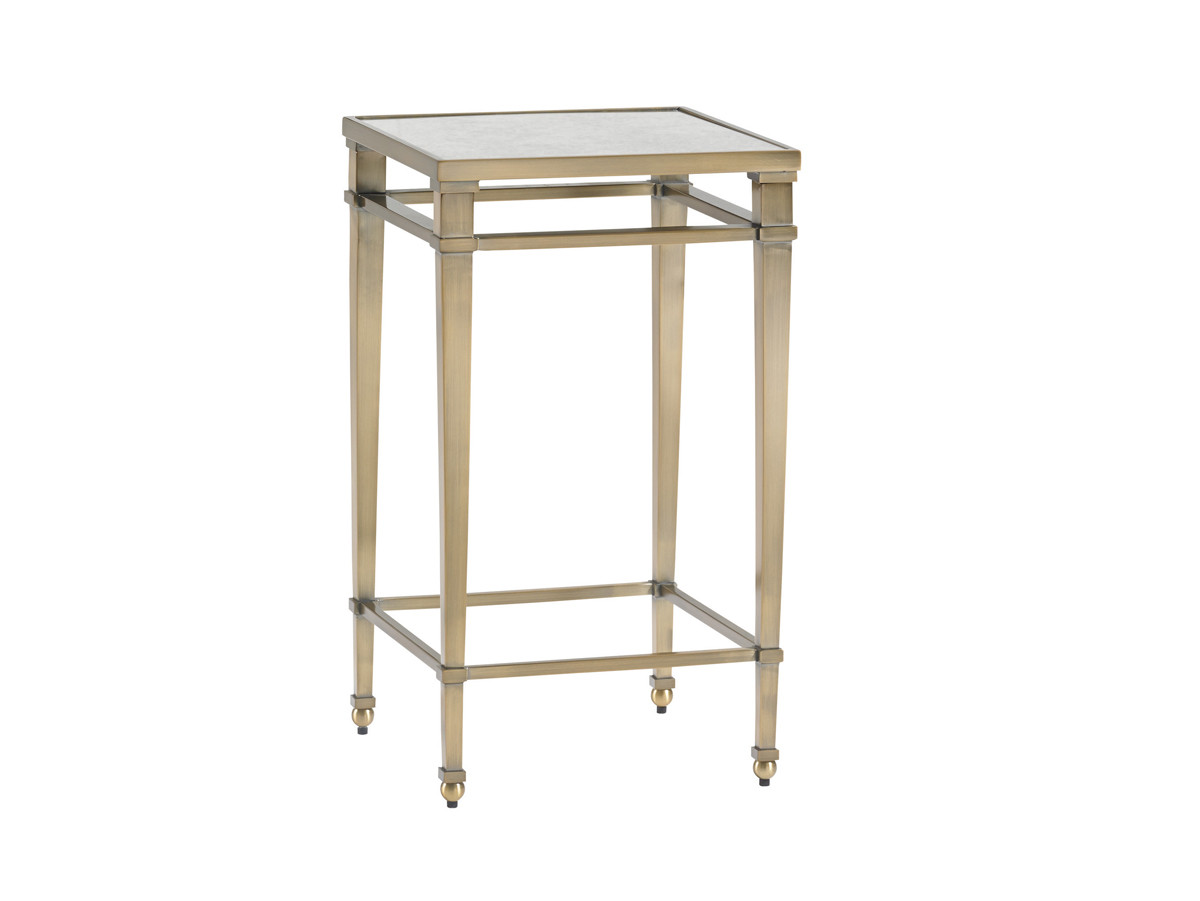 coville metal accent table lexington home brands silo outdoor kensington place console with chairs long thin sofa battery powered bedside light copper decor and accessories pieces