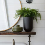 creating personal oasis how escape without actually escaping leanne target manila cylinder drum accent table brass round decorative wall mirror olive green vase fern black pot 150x150